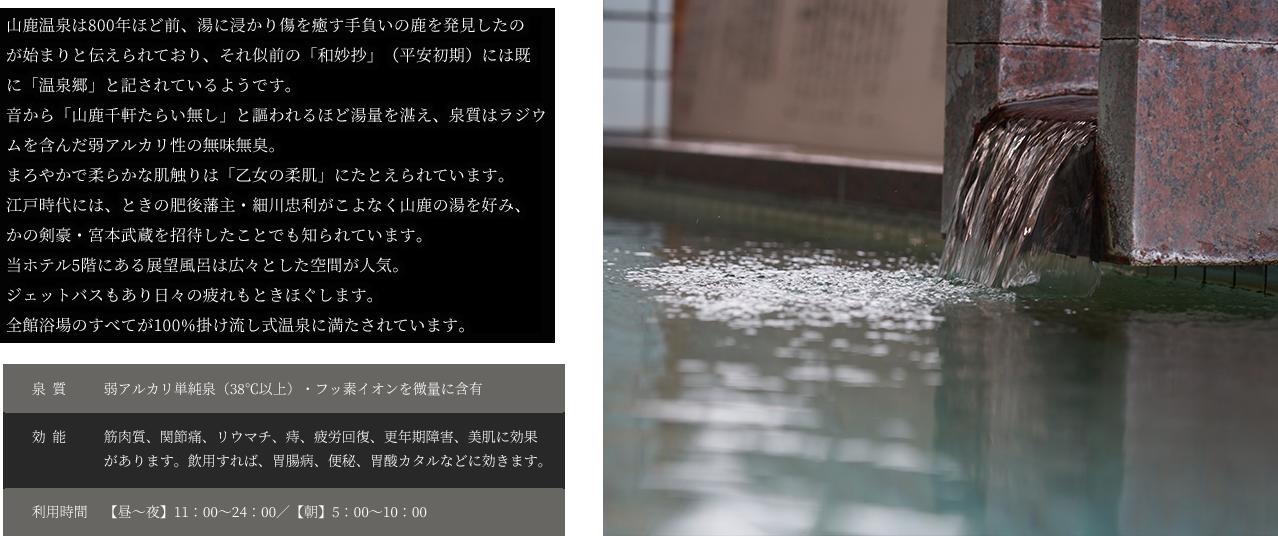 展望天然温泉説明