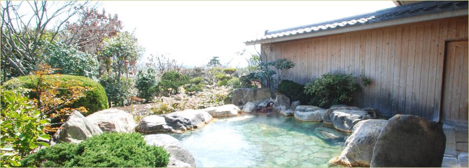 庭園露天風呂「峰望の湯」