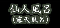 仙人風呂(露天)